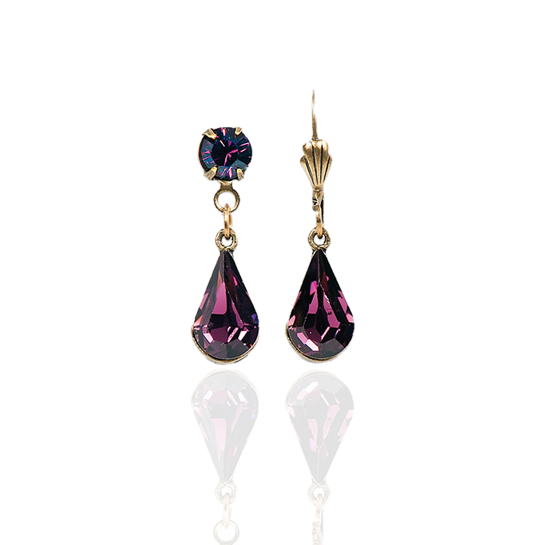 Brienne  Crystal Earrings
