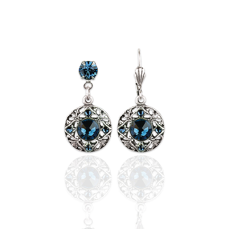 Lillian  Crystal Earrings