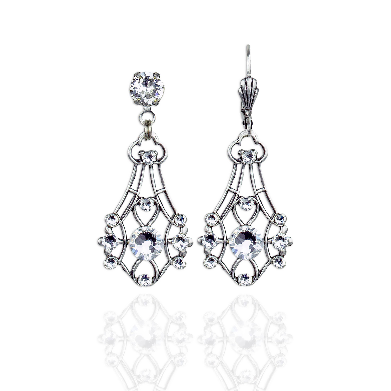 Zephyrine Crystal Earrings