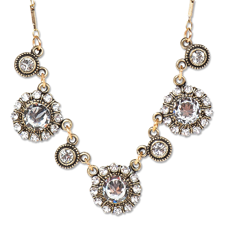 Classic Beauty Necklace | Anne Koplik Designs Jewelry | Handmade in America with Crystals from Swarovski®