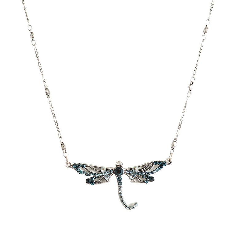 Seven Years Dragonfly Necklace | Anne Koplik Designs Jewelry | Handmade in America with Crystals from Swarovski®