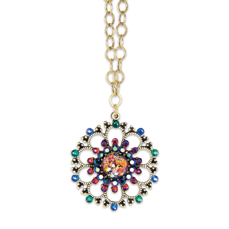 Opal Dreamer Necklace | Anne Koplik Designs Jewelry | Handmade in America with crystals from Swarovski®