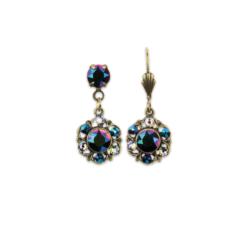 Everyday Zing Earrings Green | Anne Koplik Designs Jewelry | Handmade in America with Crystals from Swarovski®