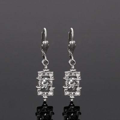 Classic Romance Earrings | Anne Koplik Designs Jewelry | Handmade in America with Crystals from Swarovski®