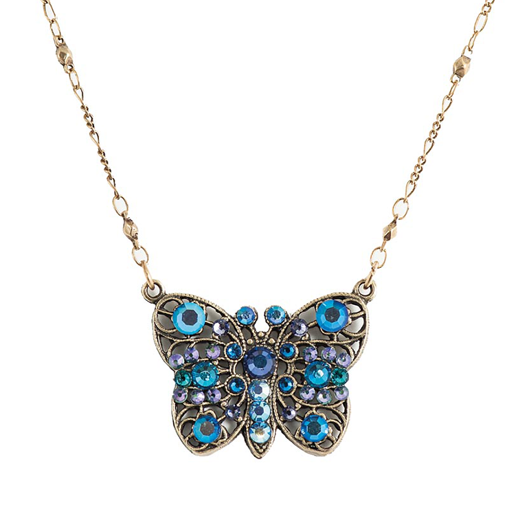 Wish Upon a Butterfly Pendant | Anne Koplik Designs Jewelry | Handmade in America with Crystals from Swarovski®