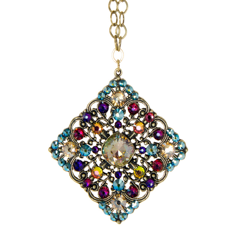 Beautiful Spectrum Pendant | Anne Koplik Designs Jewelry | Handmade in America with Crystals from Swarovski®