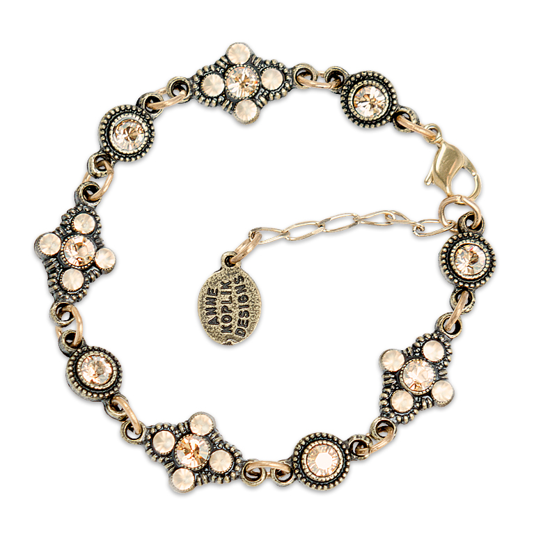 Go To Bracelet | Anne Koplik Designs Jewelry | Handmade in America with Crystals from Swarovski®