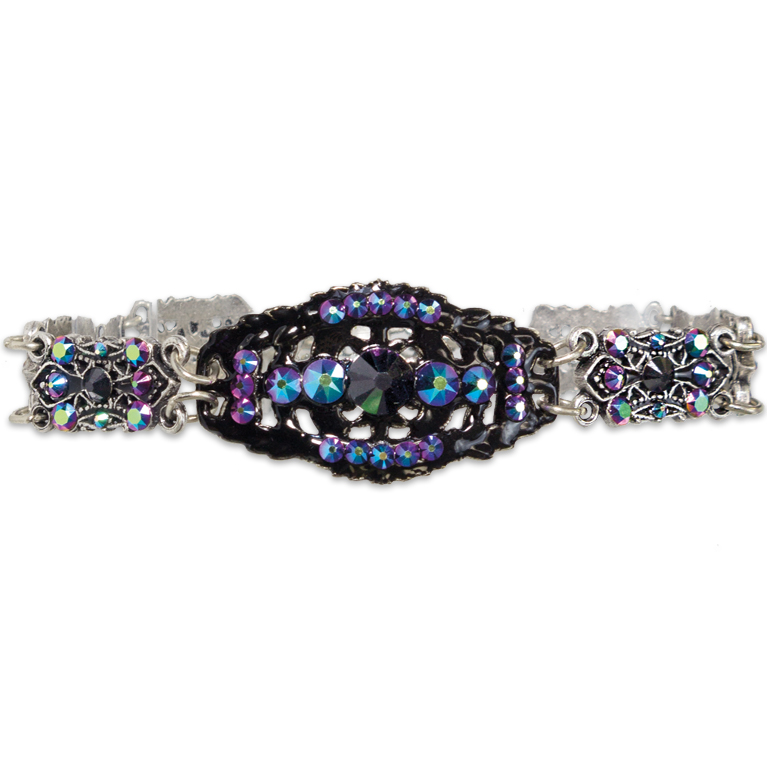 Dark Beauty Bracelet | Anne Koplik Designs Jewelry | Handmade in America with Crystals from Swarovski®