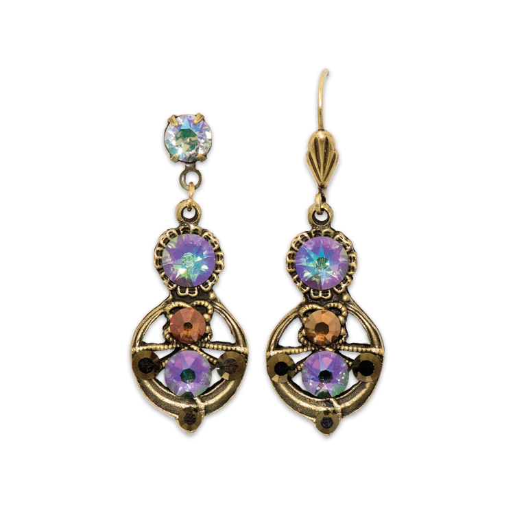 Dazzlingly Bejeweled Earrings | Anne Koplik Designs Jewelry | Handmade in America with Crystals from Swarovski®
