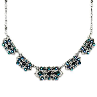 Dark Beauty Necklace | Anne Koplik Designs Jewelry | Handmade in America with Crystals from Swarovski®