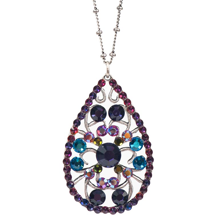 Rainbow Pendant | Anne Koplik Designs Jewelry | Handmade in America with Crystals from Swarovski®