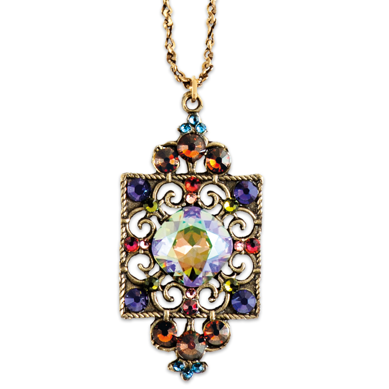 Spectacular Paradise Shine Multicolored Necklace | Anne Koplik Designs Jewelry | Handmade in America with