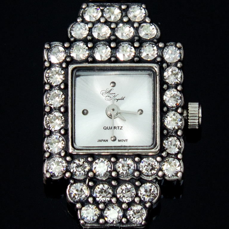 Crystal Opulence Swarovski® Crystal Watch | Anne Koplik Designs Jewelry | Handmade in America with Crystals from Swarovski®