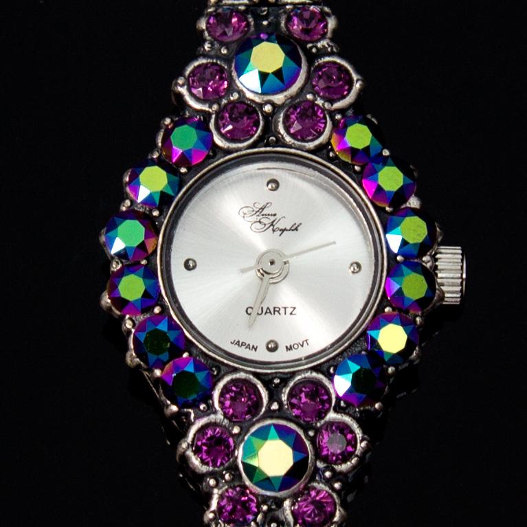 Scarabaeus Opulence Swarovski® Crystal Watch | Anne Koplik Designs Jewelry | Handmade in America with Crystals from Swarovski®