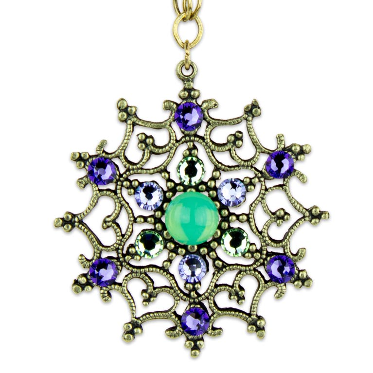 Ophelia Posh Pendant | Anne Koplik Designs Jewelry | Handmade in America with Crystals from Swarovski®