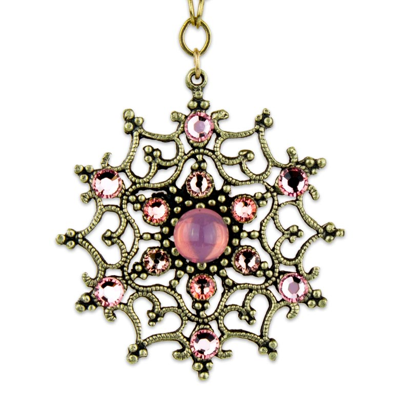 Angelina Posh Pendant | Anne Koplik Designs Jewelry | Handmade in America with Crystals from Swarovski®