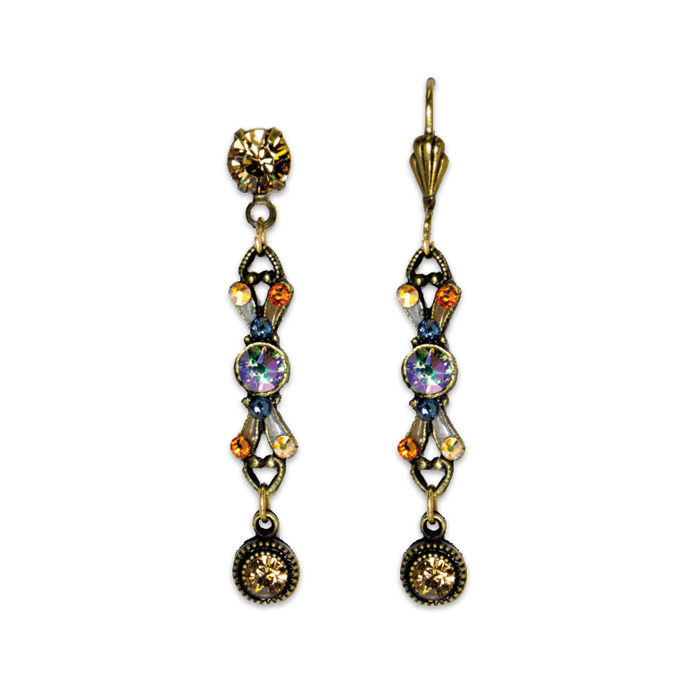 Paradise Café Earrings | Anne Koplik Designs Jewelry | Handmade in America with Crystals from Swarovski®