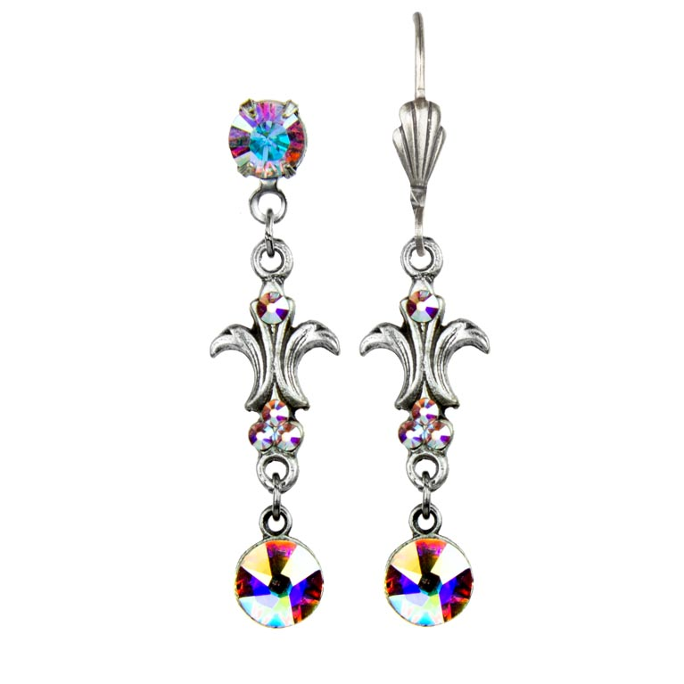 Northern Lights Tinna Earrings | Anne Koplik Designs Jewelry | Handmade in America with Crystals from Swarovski®