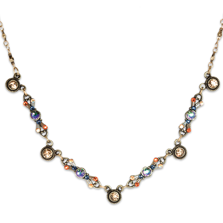 Paradise Café Necklace | Anne Koplik Designs Jewelry | Handmade in America with Crystals from Swarovski®