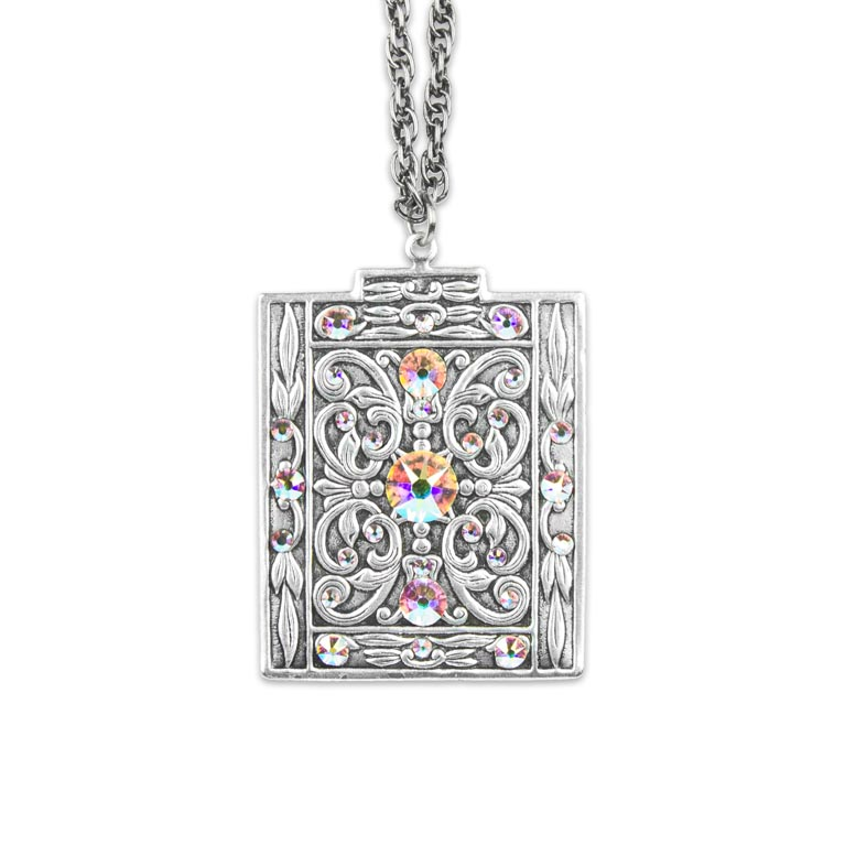 Northern Lights Tinna Pendant | Anne Koplik Designs Jewelry | Handmade in America with Crystals from Swarovski®