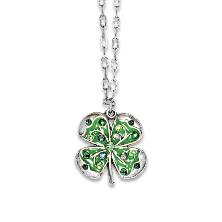 cc2e7567be8f70 Swarovski® Four Leaf Clover Necklace