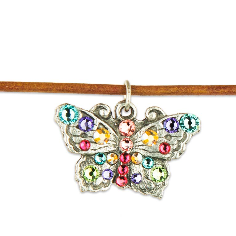 Aurora Butterfly Choker | Anne Koplik Designs Jewelry | Handmade in America with Crystals from Swarovski®