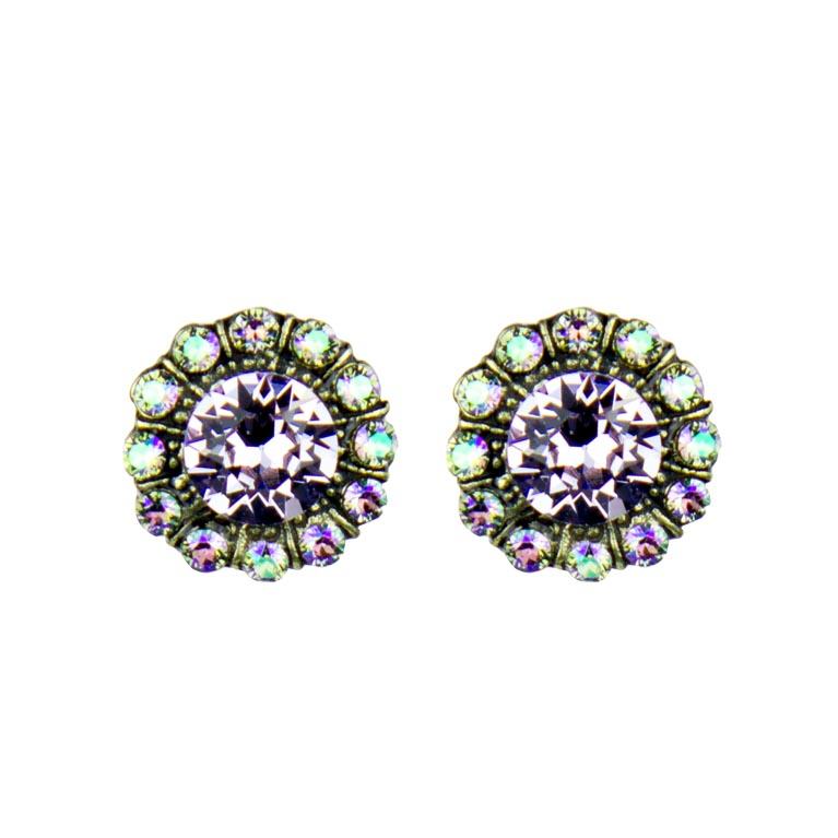 Elsie Princess Earrings | Anne Koplik Designs Jewelry | Handmade in America with Crystals from Swarovski®