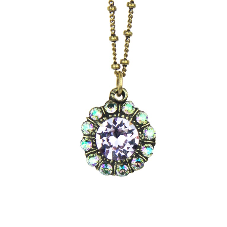 Elsie Princess Pendant | Anne Koplik Designs Jewelry | Handmade in America with Crystals from Swarovski®