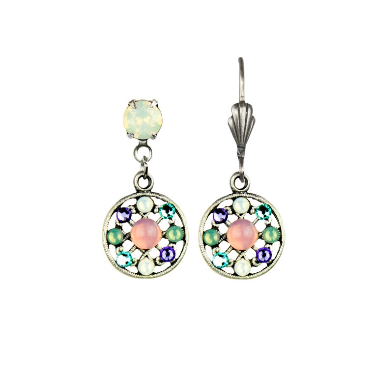Dalia Pastel Earrings | Anne Koplik Designs Jewelry | Handmade in America with Crystals from Swarovski®