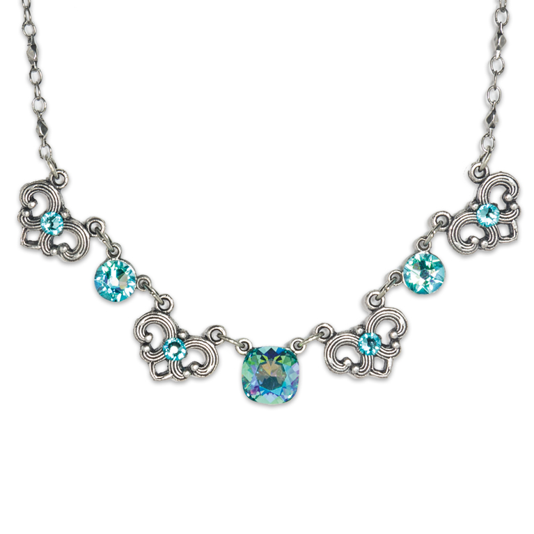 Dakota Southwest Horizon Necklace | Anne Koplik Designs Jewelry | Handmade in America with Crystals from Swarovski®