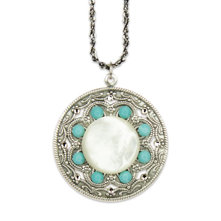 Sierra Southwest Horizon Necklace | Anne Koplik Designs Jewelry | Handmade in America with Crystals from Swarovski®