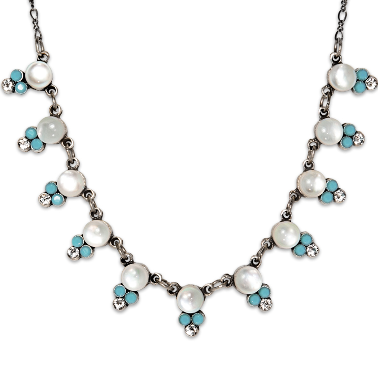Charlotte Southwest Horizon Necklace | Anne Koplik Designs Jewelry | Handmade in America with Crystals from Swarovski®