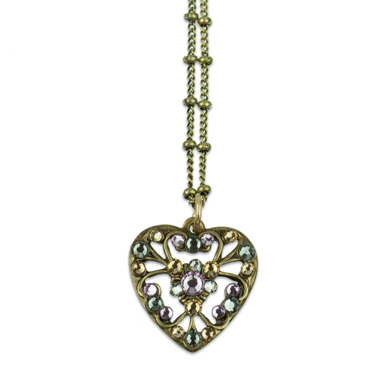Enchanting Sweetheart Necklace | Anne Koplik Designs Jewelry | Handmade in America with Crystals from Swarovski®