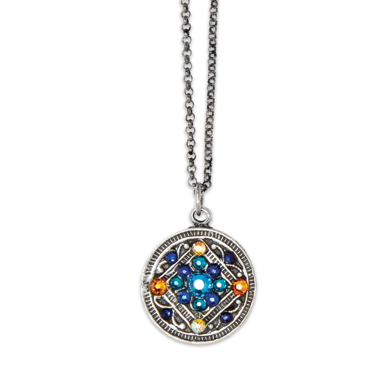 Circle of Friendship Pendant | Anne Koplik Designs Jewelry | Handmade in America with Crystals from Swarovski®