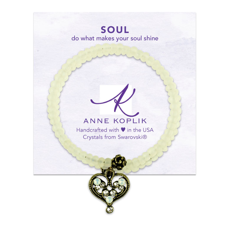 Soul Wrap Bracelet | Anne Koplik Designs | Vintage Inspired Jewelry Handcrafted in America with Crystals from Swarovski®