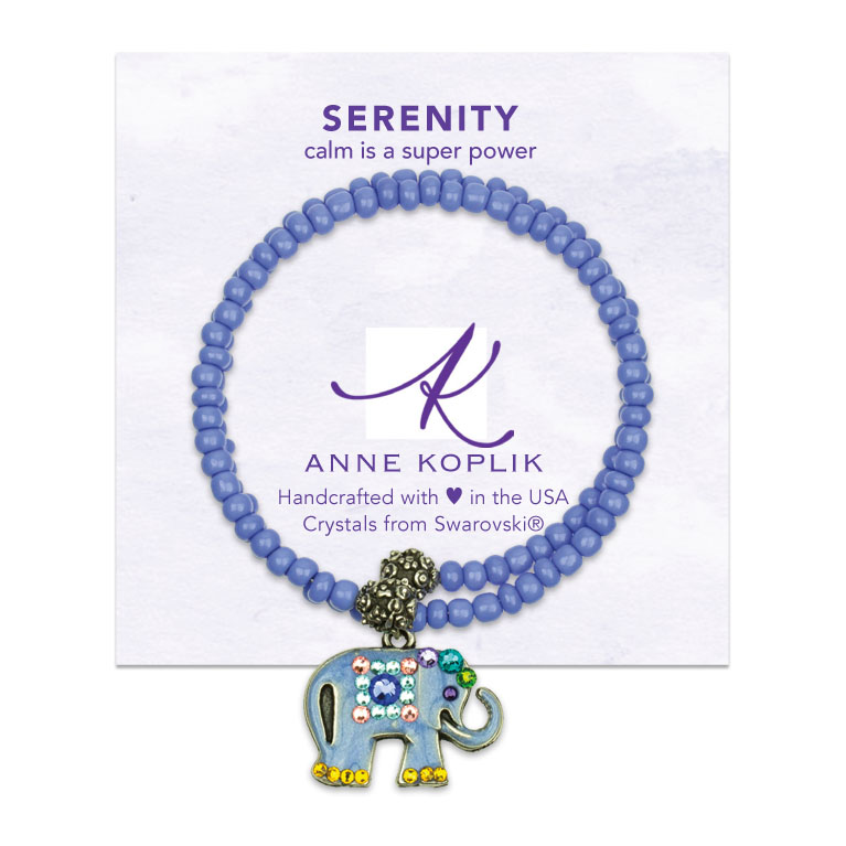 Serenity Wrap Bracelet | Anne Koplik Designs | Vintage Inspired Jewelry Handcrafted in America with Crystals from Swarovski®