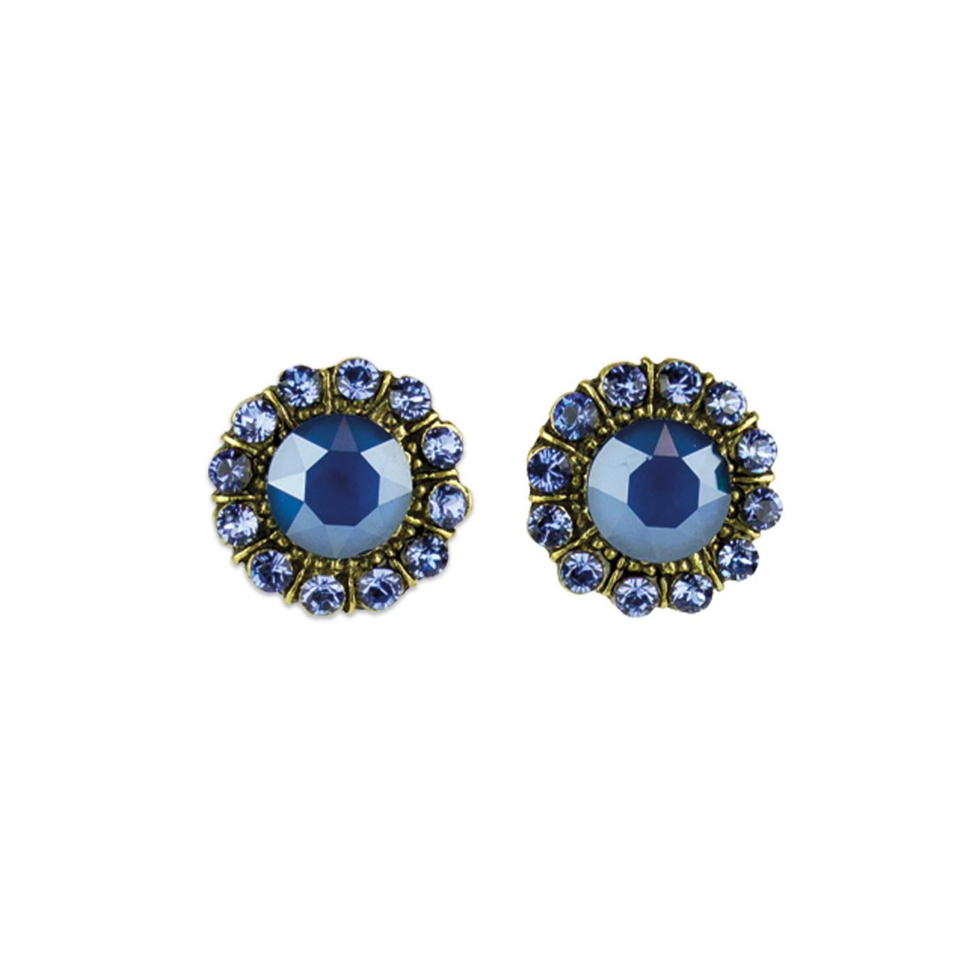 Livie Princess Earrings | Anne Koplik Designs Jewelry | Vintage Inspired Jewelry Handcrafted in America with Crystals from Swarovski®