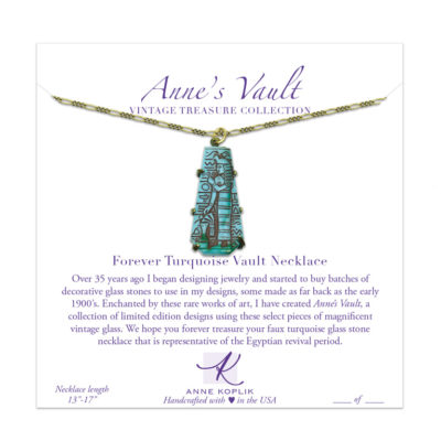 Forever Blue Vault Necklace | Anne Koplik Designs