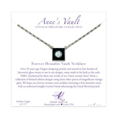 Forever Blue Vault Necklace   Anne Koplik Designs