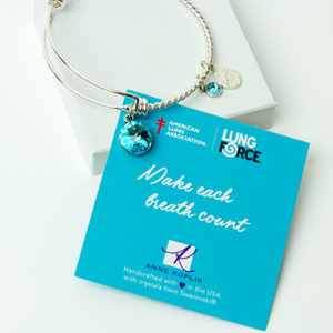 f5110d2a6 See our signature American Lung Association LUNGFORCE bracelet here!