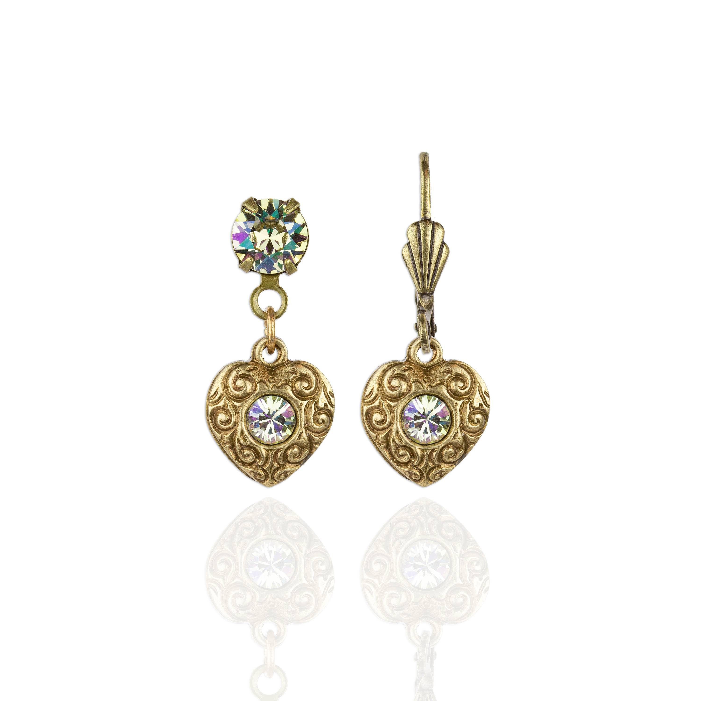 Gia  Crystal Earrings