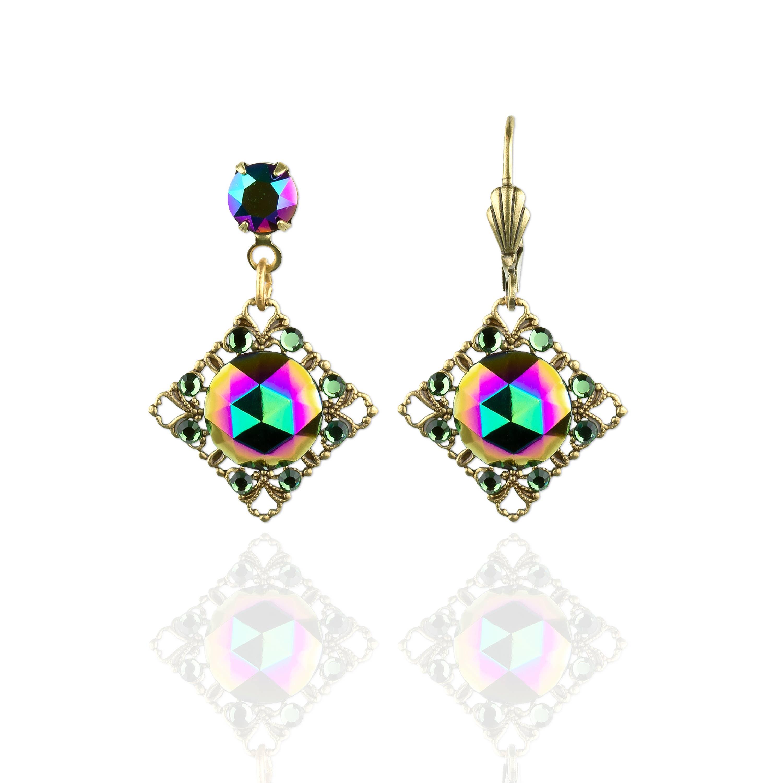 Verlyn Crystal Earrings