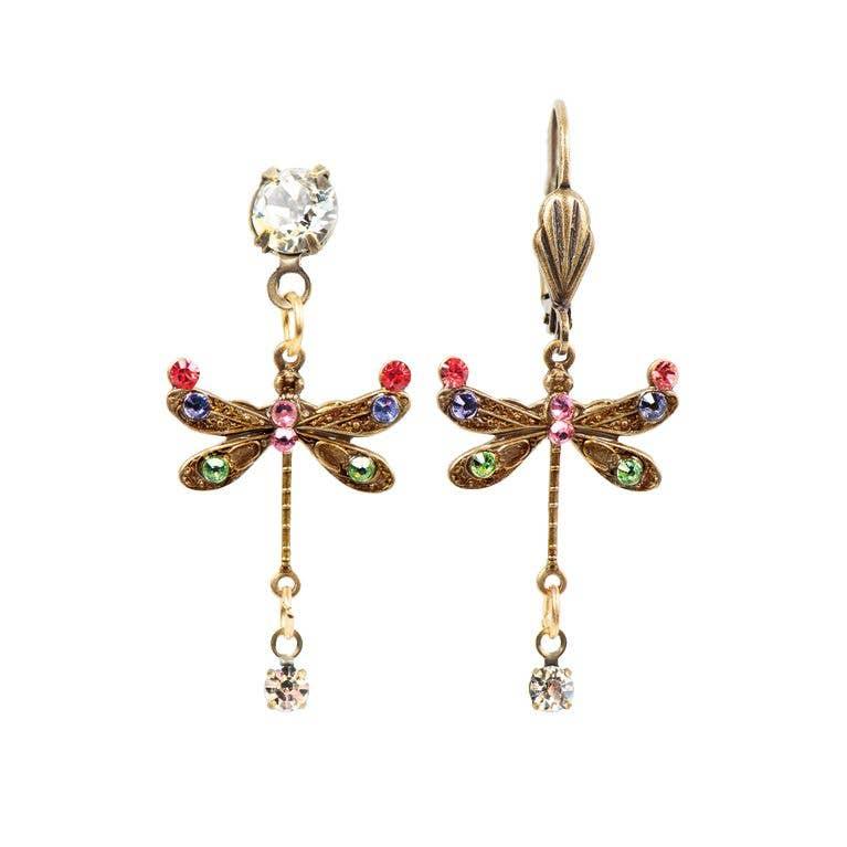Bonnie  Crystal Dragonfly Earrings