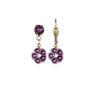 Minka Amethyst Earrings