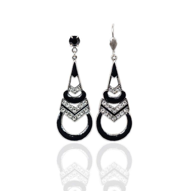 Claudette Swarovski® Crystal Earrings