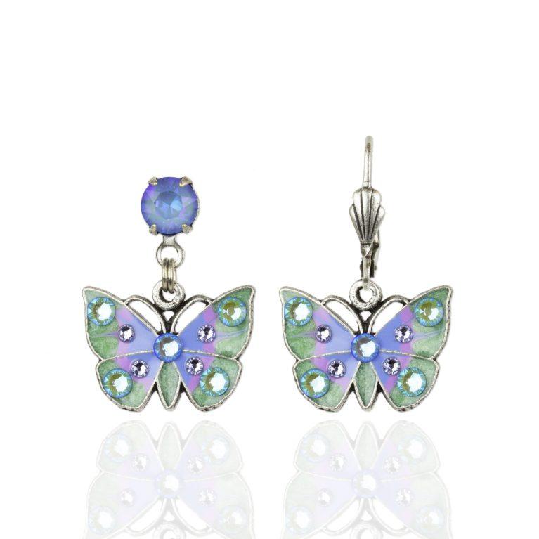 Tadita Swarovski® Crystal Butterfly Earrings