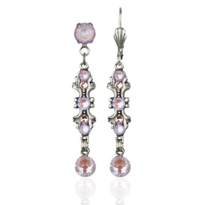 Harmony Lavender Delite Crystal Earrings