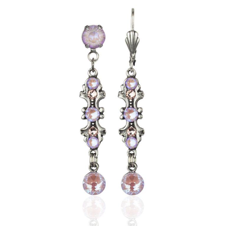 Harmony Lavender Delite Crystal Earrings