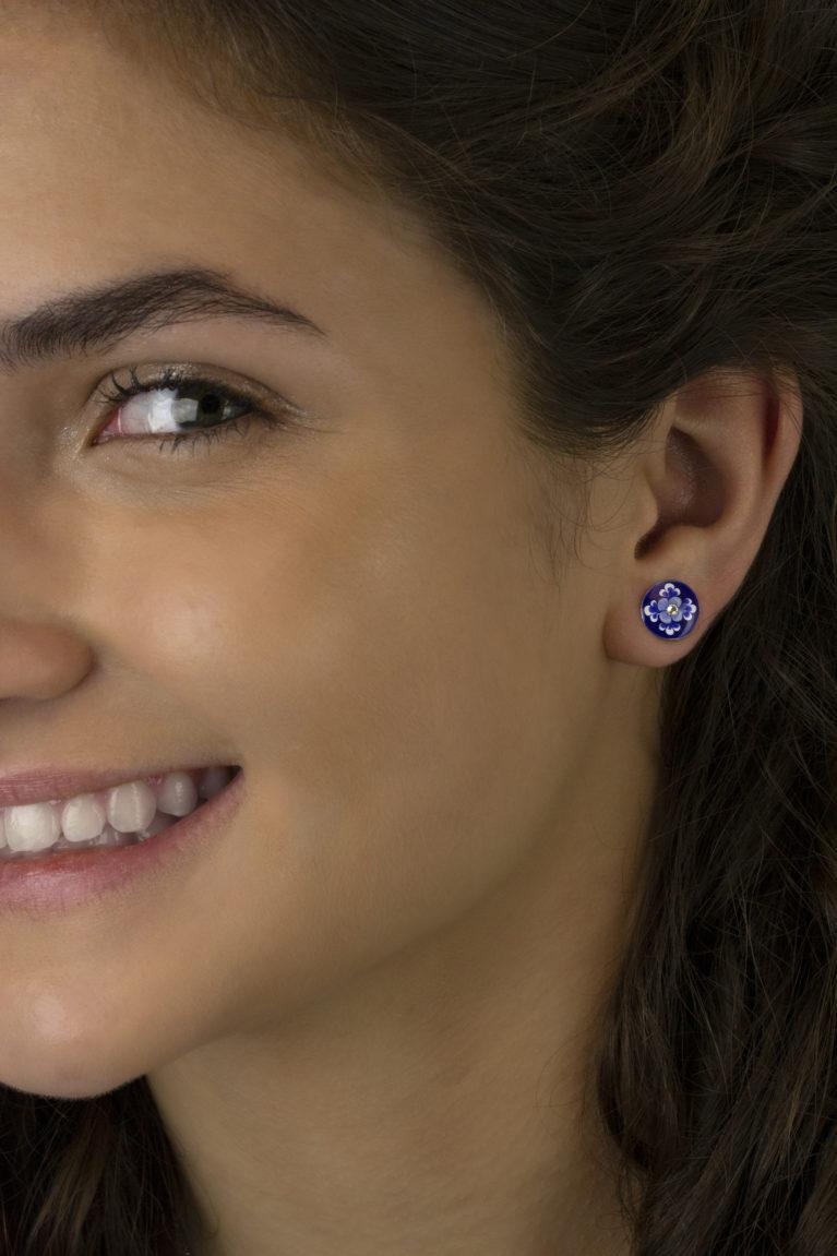 Jolie 'Jill's Garden' Flower Earrings