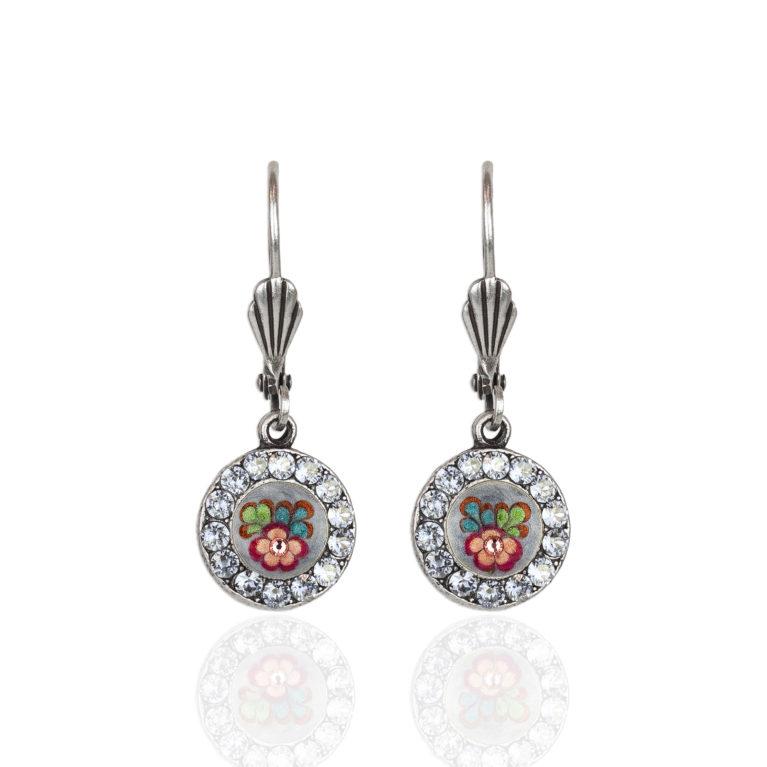 Gia 'Jill's Garden' Flower Earrings